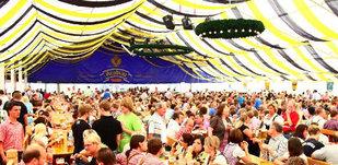 Pfingstfest 2011 - mit den Org. Südtiroler Spitzbuam